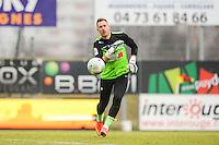 Landry BONNEFOI - 24.01.2015 - Clermont / Chateauroux  - 21eme journee de Ligue2<br />Photo : Jean Paul Thomas / Icon Sport