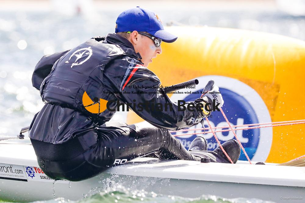 , Travemünder Woche 19. - 28.07.2019, Laser 4.7 - GER 206232 - Josse BONATZ - Kieler Yacht-Club e. V