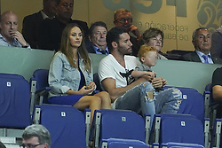 September 17, 2018 - Madrid, Spain - Helen Lindes and  Rudy Fernández  attend the 2019 FIBA Basketball World Cup qualification match between Spain and Latvia at WiZink Center in Madrid, Spain, 17 September 2018  (Credit Image: © Oscar Gonzalez/NurPhoto/ZUMA Press)