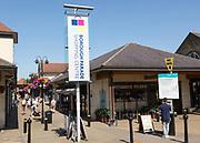 Borough Parade shopping centre in town centre, Chippenham, Wiltshire, England, UK