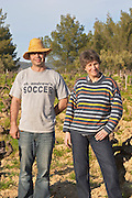 Agnes Henry-Hocquard, owner and responsible for the wines and the winemaker Domaine de la Tour du Bon Le Castellet Bandol Var Cote d'Azur France