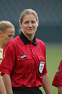 25 August 2007: Fourth Official Jennifer Bennett. The United States Women's National Team defeated the Women's National Team of Finland 4-0 at the Home Depot Center in Carson, California in an International Friendly soccer match.