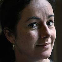 Nederland, Den Haag , 13 oktober 2010..Femke Halsema (Haarlem, 25 april 1966) is een Nederlandse politica. Zij is politiek leider van GroenLinks..Foto:Jean-Pierre Jans
