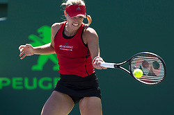 March 22, 2018 - Key Biscayne, FL, U.S. - KEY BISCAYNE, FL - MARCH 22: Angelique Kerber (GER) on March 22, 2018, at the Tennis Center at Crandon Park in Key Biscayne, FL. (Photo by Andrew Patron/Icon Sportswire) (Credit Image: © Andrew Patron/Icon SMI via ZUMA Press)