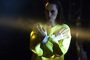 The french band Yelle  performing   in Madrid