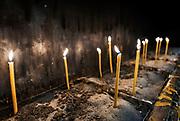 Votive candles.