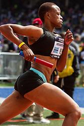 Penn Relays, USA vs the World, womens 4 x 400 meter relay, Christine Botlogetswe, Botswana