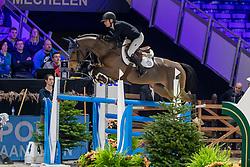 Olsson Sanna, SWE, Kahlua Ducaet<br /> Jumping Mechelen 2019<br /> © Hippo Foto - Martin Tandt<br />  27/12/2019