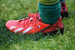 Detail of Djibril Cisse football boots