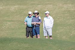 Chick-fil-A Peach Bowl Challenge Legends play a round of golf at the Oconee Course Reynolds Plantation, Wednesday, May 2, 2018, in Greensboro, Georgia. (Jeannie Abell via Abell Images for Chick-fil-A Peach Bowl Challenge)