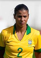 Fifa Womans World Cup Canada 2015 - Preview //<br /> Algarve Cup 2015 Tournament ( Municipal Stadium - Albufeira , Portugal ) - <br /> Brazil vs China 0-0 - Fabiana Da Silva Simoes of Brazil