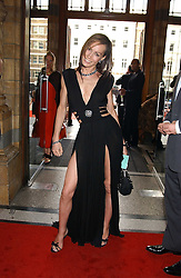 TARA PALMER-TOMKINSON at the opening party for Diamonds - a new exhibition at The Natural History Museum, London in association with De Beers held on 6th July 2005.<br />