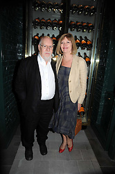 SIR PETER & LADY BLAKE at the Harper's Bazaar Women of the Year Awards 2008 at The Landau, The Langham Hotel, Portland Place, London on 1st September 2008.<br /> <br /> NON EXCLUSIVE - WORLD RIGHTS