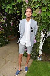 LUKE PASQUALINO at The Royal Salute Coronation Cup Polo held at Guards Polo Club,  Smiths Lawn, Windsor Great Park, Egham on 23rd July 2016.
