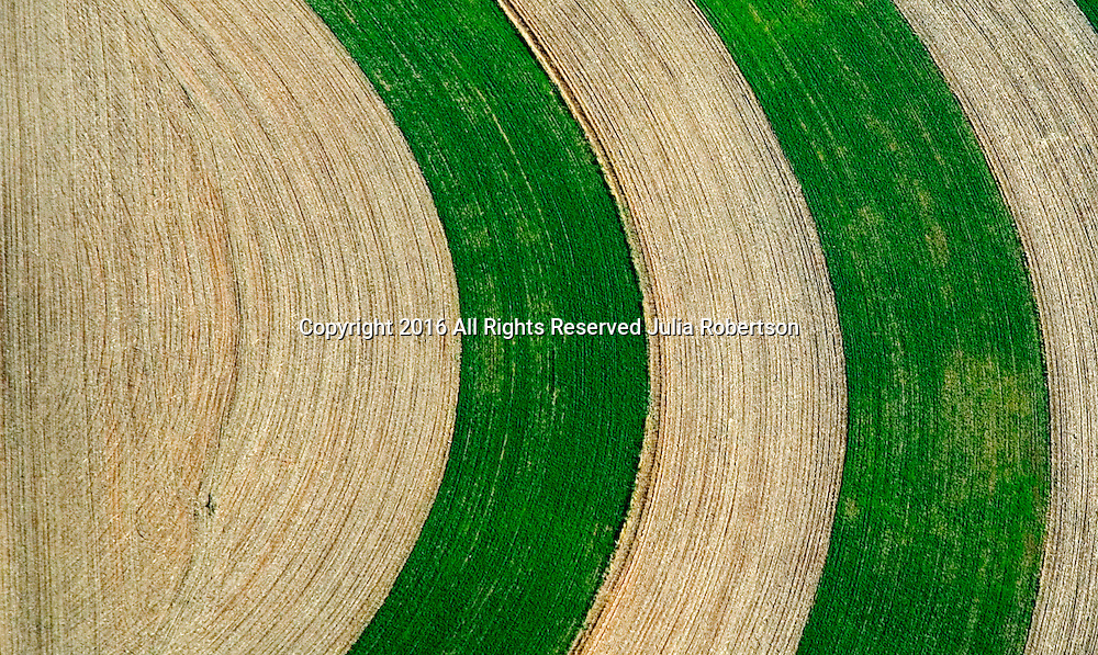 Aerial view of abstract Lancaster Farms, Amish