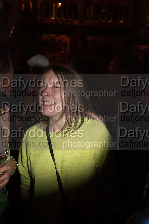 SARAH LUCAS;  Sarah Lucas- Scream Daddio party hosted by Sadie Coles HQ and Gladstone Gallery at Palazzo Zeno. Venice. 6 May 2015.