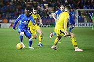 Peterborough United midfielder Siriki Dembele (10) ton the ball during the EFL Sky Bet League 1 match between Peterborough United and Oxford United at London Road, Peterborough, England on 8 December 2018.