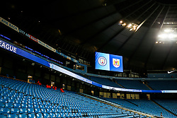 Manchester City v Bristol City branding in the stadium - Rogan/JMP - 09/01/2018 - Etihad Stadium - Manchester, England - Manchester City v Bristol City - Carabao Cup Semi Final First Leg.