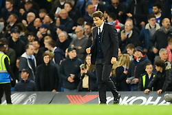 Chelsea manager Antonio Conte celebrates their win over Middlesbrough - Mandatory by-line: Jason Brown/JMP - 08/05/17 - FOOTBALL - Stamford Bridge - London, England - Chelsea v Middlesbrough - Premier League