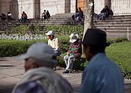 San Francisco Squere in Arequipa, Peru.