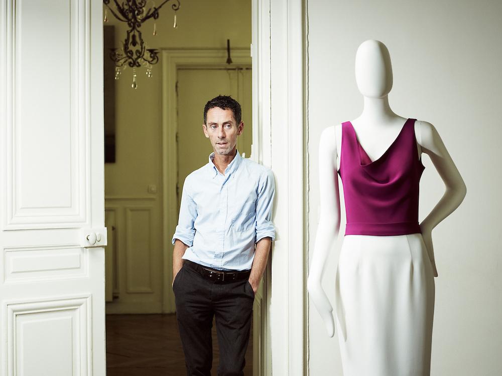 PARIS, FRANCE. JULY 23, 2012. Australian fashion designer Martin Grant in his office / workshop in Paris. Photo: Antoine Doyen
