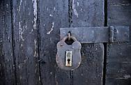 SERIES - UNRELIABLE-SIGHTINGS by PAUL WILLIAMS-  door and lock Dunwich