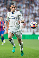 Garet Bale of Real Madrid during the match of La Liga between Real Madrid and Futbol Club Barcelona at Santiago Bernabeu Stadium  in Madrid, Spain. April 23, 2017. (ALTERPHOTOS)