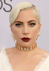 January 27, 2019 - Los Angeles, California, U.S. - LADY GAGA arrives for the 25th Annual Screen Actors Guild Awards held at The Shrine Auditorium. (Credit Image: © Faye Sadou/AdMedia via ZUMA Wire)