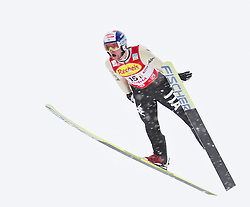 16.12.2011, Casino Arena, Seefeld, AUT, FIS Nordische Kombination, Ski Springen Team HS 109, im Bild Alessandro Pittin (ITA) // Alessandro Pittin of Italy during Ski jumping the team competition at FIS Nordic Combined World Cup in Sefeld, Austria on 20111211. EXPA Pictures © 2011, PhotoCredit: EXPA/ P.Rinderer