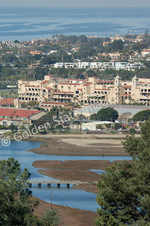 The San Diego County Fairgrounds - world famous for its horse racing and the annual summer fair.