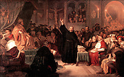 Martin Luther at the Diet of Worms1521.