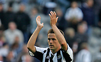 Photo: Andrew Unwin.<br />Newcastle United v Manchester City. The Barclays Premiership. 24/09/2005.<br />Newcastle's Michael Owen.