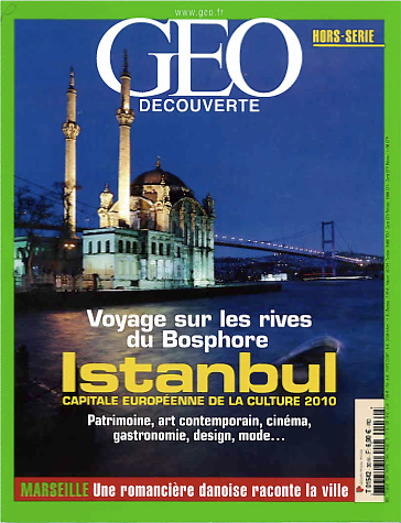 """USE ARROWS ← → on your keyboard to navigate this slide-show<br /> <br /> Geo magazine - France<br /> Cover of the special edition """"Istanbul"""".<br /> Photo: Ezequiel Scagnetti"""