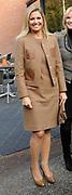 Hare Koninklijke Hoogheid Prinses Máxima der Nederlanden heeft op de Nyenrode Business Universiteit in Breukelen een toespraak over toegang tot financiële diensten (inclusive finance). <br /> <br /> Her Royal Highness Princess Máxima of the Netherlands at the Nyenrode Business University in Breukelen a speech on access to financial services (inclusive finance).<br /> <br /> Op de foto / On the photo: <br />  Aankomst prinses Maxima