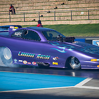 Russell Ladbrook's Dodge Daytona at the Perth Motorplex Night of Fire
