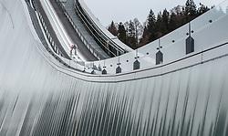31.12.2015, Olympiaschanze, Garmisch Partenkirchen, GER, FIS Weltcup Ski Sprung, Vierschanzentournee, Training, im Bild Domen Prevc (SLO) // Domen Prevc of Slovenia during his Practice Jump for the Four Hills Tournament of FIS Ski Jumping World Cup at the Olympiaschanze, Garmisch Partenkirchen, Germany on 2015/12/31. EXPA Pictures © 2015, PhotoCredit: EXPA/ JFK