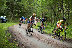 Lizzie Deignan (GBR) of Boels-Dolmans Cycling Team rides the final gravel section of the Crescent Vargarda - a 152 km road race, starting and finishing in Vargarda on August 13, 2017, in Vastra Gotaland, Sweden. (Photo by Balint Hamvas/Velofocus.com)