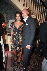 DYLAN JONES and TRACEY EMIN at a party to celebrate the publication of Imperial Bedrooms by Bret Easton Ellis held at Mark's Club, 46 Charles Street, London W1 on 15th July 2010.