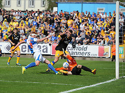 Bristol Rovers' Matt Harrold goes close to scoring - Photo mandatory by-line: Joe Meredith/JMP - Mobile: 07966 386802 03/05/2014 - SPORT - FOOTBALL - Bristol - Memorial Stadium - Bristol Rovers v Mansfield - Sky Bet League Two