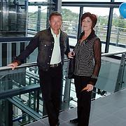 Tros winterpresentatie 2002 Amsterdam, Jan Keizer en Carola Smit BZN