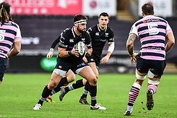 Ospreys' Scott Baldwin in action during todays match<br /> <br /> Photographer Craig Thomas/Replay Images<br /> <br /> Guinness PRO14 Round 13 - Ospreys v Cardiff Blues - Saturday 6th January 2018 - Liberty Stadium - Swansea<br /> <br /> World Copyright © Replay Images . All rights reserved. info@replayimages.co.uk - http://replayimages.co.uk