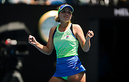 TENNIS - WTA - AUSTRALIAN OPEN 2020 - WOMENS 200120