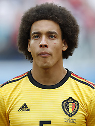 Axel Witsel of Belgium during the 2018 FIFA World Cup Play-off for third place match between Belgium and England at the Saint Petersburg Stadium on June 26, 2018 in Saint Petersburg, Russia