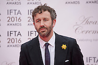 Actor Chris O'Dowd at the IFTA Film & Drama Awards (The Irish Film & Television Academy) at the Mansion House in Dublin, Ireland, Saturday 9th April 2016. Photographer: Doreen Kennedy