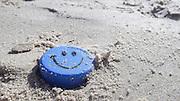 Smiley on the beach