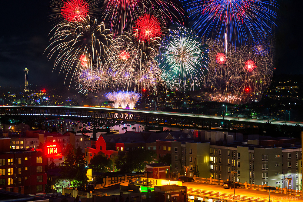 Independence Day 2017, University District, Seattle
