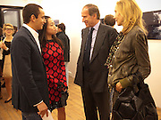 "ALEX DELLAL; YI ZHOU; SIMON DE PURY; MICHAELA DE PURY, Video artist Yi Zhou  first solo show ""I am your Simulacrum"".Exhibition opening at 20 Hoxton Square Projects. Hoxton Sq. London. 1 September 2010.  -DO NOT ARCHIVE-© Copyright Photograph by Dafydd Jones. 248 Clapham Rd. London SW9 0PZ. Tel 0207 820 0771. www.dafjones.com."