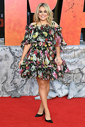 Tallia Storm attending the European premiere of Rampage, held at the Cineworld in Leicester Square, London. Photo credit should read: Doug Peters/EMPICS Entertainment