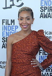 February 8, 2020, Los Angeles, California, United States: 2020 Film Independent Spirit Awards held at Santa Monica Pier..Featuring: Zora Howard.Where: Los Angeles, California, United States.When: 08 Feb 2020.Credit: Faye's VisionCover Images (Credit Image: © Cover Images via ZUMA Press)