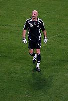 Photo: Glyn Thomas.<br />Portugal v France. Semi Final, FIFA World Cup 2006. 05/07/2006.<br /> France's goalkeeper Fabien Barthez.